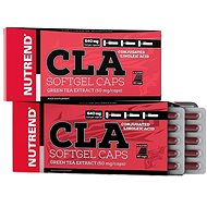 Nutrend CLA Softgel Caps, 60 kapslí, - Spalovač tuků
