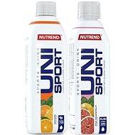 Nutrend Unisport, 1000 ml, pomeranč + 500 ml, pink grep - Sada doplňků stravy