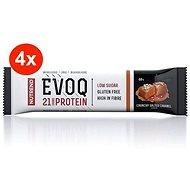Nutrend EVOQ, 60 g, slaný karamel, 4ks - Sada
