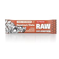 Nutrend RAW Protein Bar, 50 g, hazelnut + date - Raw Bar
