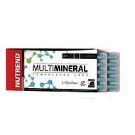 Nutrend Multimineral Compressed Caps, 60 kapslí, - Vitamín