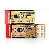 Nutrend Omega 3 Plus Softgel caps, 120 kapslí, - Omega 3