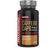 Nutrend Caffeine caps, 60 kapslí - Stimulant