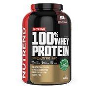 Nutrend 100% Whey Protein 2250 g, čokoládové brownies - Protein