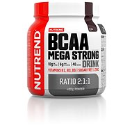 Nutrend BCAA Mega Strong Drink (2:1:1), 400 g, cola - Aminokyseliny