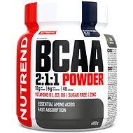 Nutrend BCAA Mega Strong Drink (2:1:1), 400 g, černý rybíz
