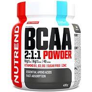 Nutrend BCAA Mega Strong Drink (2:1:1), 400 g, modrá malina