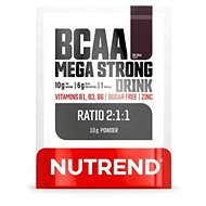 Nutrend BCAA Mega Strong Drink (2:1:1), 10 g - Aminokyseliny