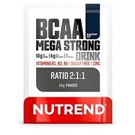 Nutrend BCAA Mega Strong Drink (2:1:1), 10 g, černý rybíz - Aminokyseliny