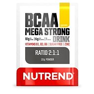 Nutrend BCAA Mega Strong Drink (2:1:1), 10 g, mango - Aminokyseliny
