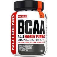 Nutrend BCAA Energy Mega Strong Powder, 500g, Orange