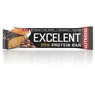 Nutrend Excelent protein bar, 85 g, peanut butter in milk chocolate - Protein Bar