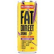 Nutrend Fat Direct Drink 250 ml, ostružina - Spalovač tuků
