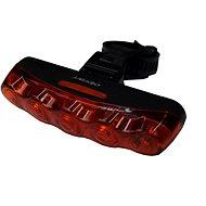 Olpran Zadní světlo 5 červené LED D - Světlo na kolo