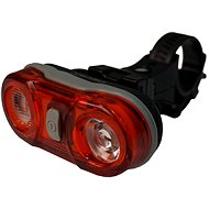 Olpran Zadní světlo 2 LED červené - Světlo na kolo
