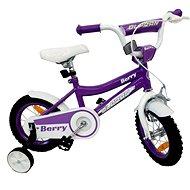 """OLPRAN Berry 12"""", fialová/bílá - Dětské kolo 12"""""""