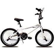 "Olpran BMX, White, Freestyle 20"" - Children's bike 20"""