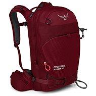 Osprey Kresta 20, rosewood red, WS/WM - Lyžařský batoh