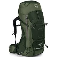 Osprey Aether Ag 70, Adirondack Green, L - Tourist Backpack