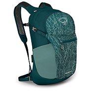 Městský batoh Osprey Daylite PLUS (PRINT) nieve green