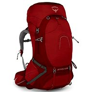 Osprey Atmos AG 65 II rigby red MD - Turistický batoh