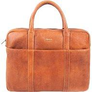 Pánská kožená taška SEGALI 7009 koňak - Taška na notebook