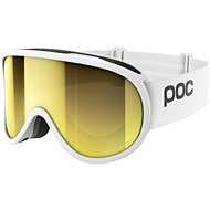 POC Retina Big Clarity hydrogen white/spektris gold one size - Lyžařské brýle