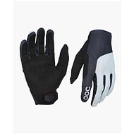 Cyklistické rukavice POC Essential Print Glove Uranium Black/Oxolane Grey Large