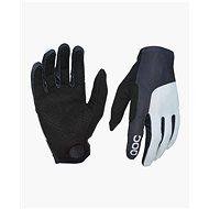 POC Essential Print Glove Uranium Black/Oxolane Grey Small - Cyklistické rukavice