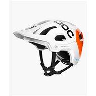 POC Tectal Race SPIN NFC Hydrogen White/Fluorescent Orange - Helma na kolo
