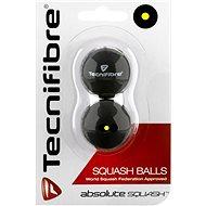 Tecnifibre jednotečkové žluté - Squashový míč