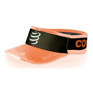 COMPRESSPORT Racket Visor, black/orange - Kšilt