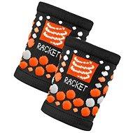 COMPRESSPORT wristband black/orange - Potítko