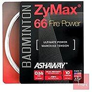 Ashaway Zymax Fire Power 66 white - Badminton Strings