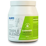 Alavis Triple Blend Extra Strong + Cannabis CBD Extract 700g - Joint nutrition