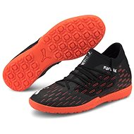 PUMA FUTURE 6.3 NETFIT TT, Black/Orange - Football Boots