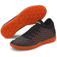 PUMA FUTURE 6.4 TT, Black/Orange - Football Boots