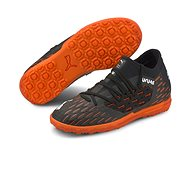 PUMA FUTURE 6.3 NETFIT TT Jr, Black/Orange - Football Boots