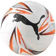 PUMA ftblPLAY Big Cat Ball, White-Orange, size 5 - Football