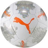 Puma SPIN ball bílo-stříbrný vel. 4 - Fotbalový míč