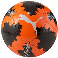 Fotbalový míč Puma SPIN ball oranžovo-černý vel. 4 - Fotbalový míč