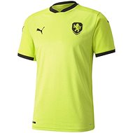 Puma Czech Republic Away green black 16 - Dres