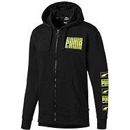 Puma Rebel Bold black yellow - Mikina