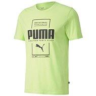 Puma Box Tee green - Tričko
