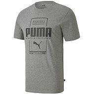 Puma Box Tee grey - Tričko