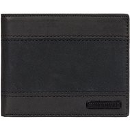 Quiksilver Sypply Slim Trifold Wallet Black