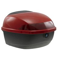 Rear Case for RACCEWAY CENTURY Electric Motorcycle, red-glossy - Suitcase