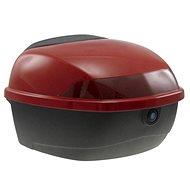 Zadní kufr k elektrickému motocyklu RACCEWAY CITY, červený-lesklý - Kufr