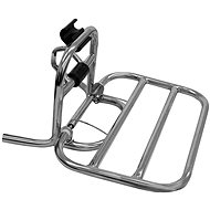 The Front Carrier for the RACCEWAY CENTURY Electric Motorcycle, Chrome - Carrier