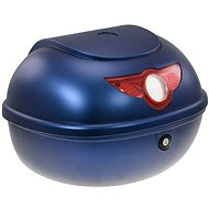 Rear Case for RACCEWAY SMART Electric Motorcycle, blue-glossy - Suitcase